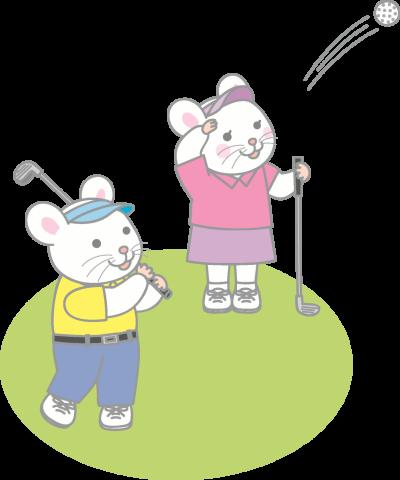 雨の日のゴルフについて